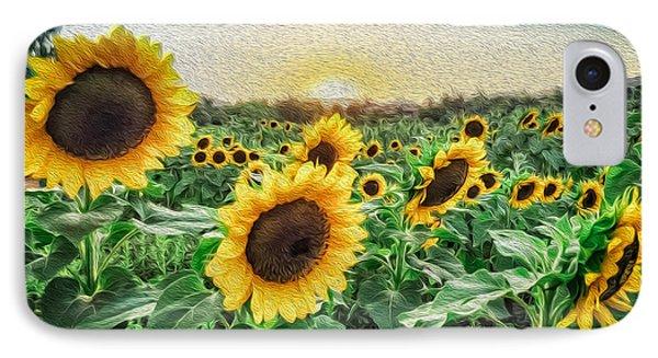 Field Of Sun IPhone Case