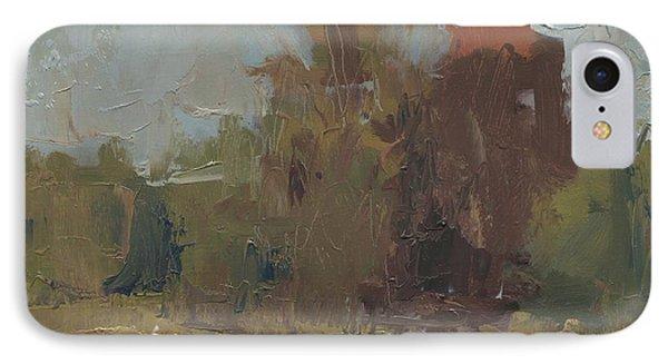 Fields Edge In Autumn IPhone Case