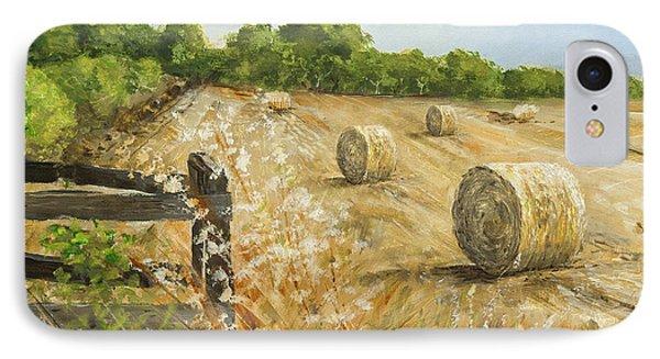 Fields Of Hay IPhone Case