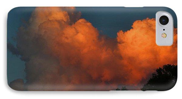 Fiery Cumulus IPhone Case
