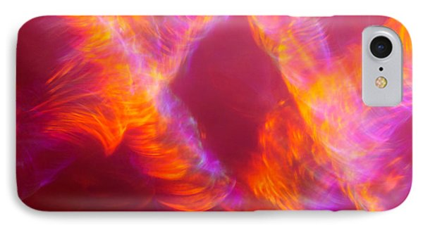 IPhone Case featuring the photograph Fiery Cyclonic Fury by Greg Collins