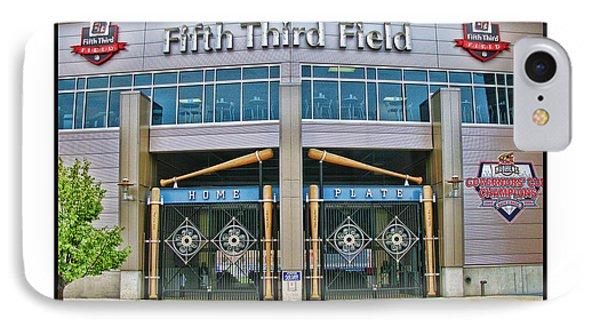 Fifth Third Field Toledo Mudhens IPhone Case