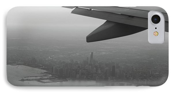 Final Approach Chicago B W IPhone Case