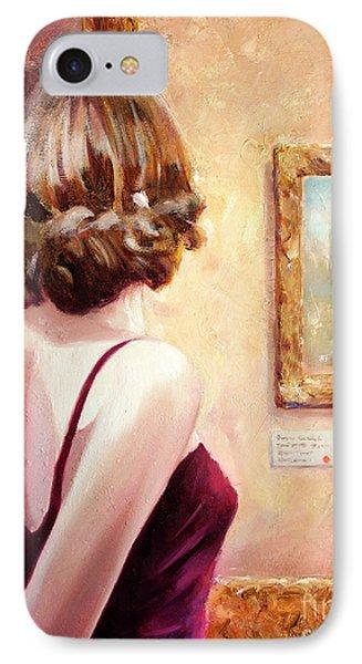 Fine Art Gallery Opening Night IPhone Case