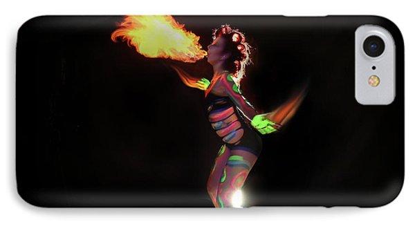 Fire Blowin IPhone Case