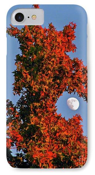 Fire Dragon Tree Eats Moon IPhone Case