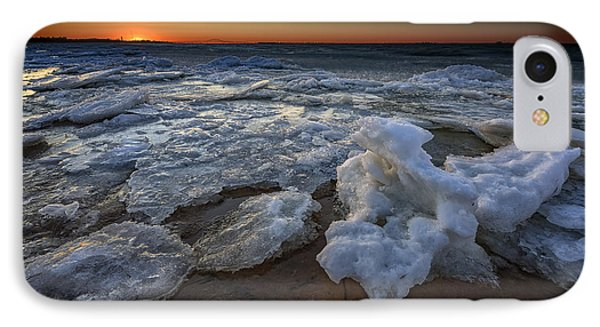 Fire Island Icy Shores IPhone Case