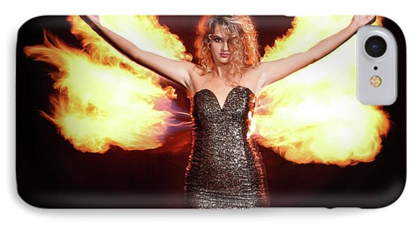 Fire Wings IPhone Case