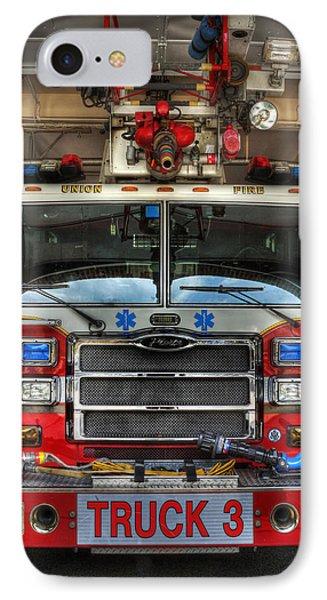Fireman - Fire Engine IPhone Case