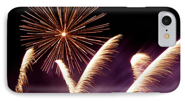 Fireworks In The Night IPhone Case