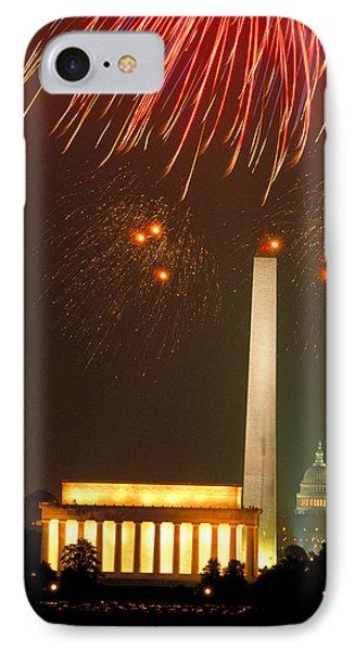 Fireworks Over Washington Dc Mall IPhone Case