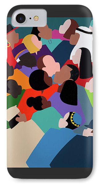 iPhone 8 Case - First Family The Obamas by Synthia SAINT JAMES
