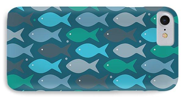 Fish Blue  IPhone Case
