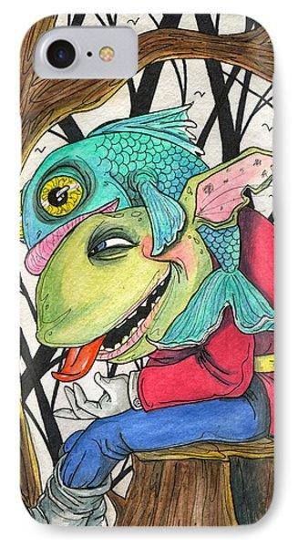 Fish Face IPhone Case