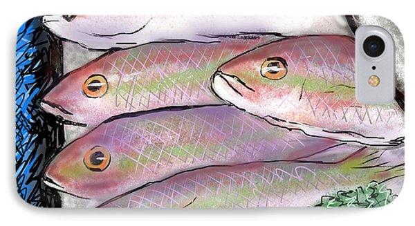 Fish Market IPhone Case