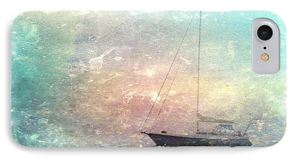 Fishing Boat In The Morning IPhone Case