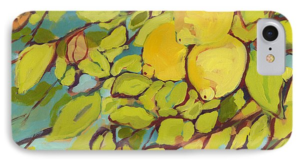 Fruit iPhone 8 Case - Five Lemons by Jennifer Lommers