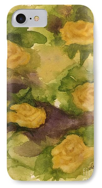 Five Yellow Roses IPhone Case