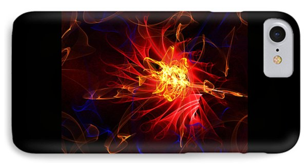 Flame Art Abstract IPhone Case
