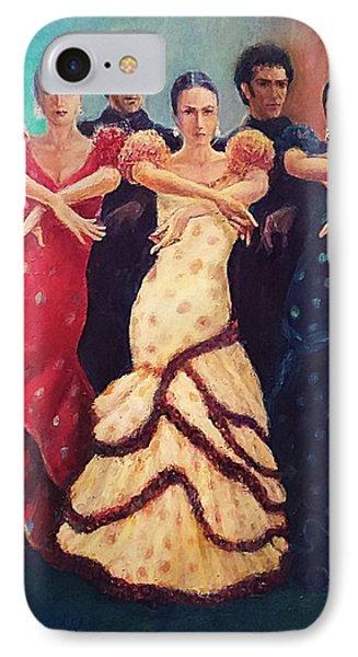 Flamenco Dancers 5 IPhone Case