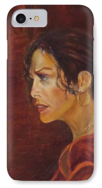 Flamenco Girl 1 IPhone Case