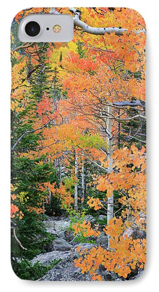 Flaming Forest IPhone Case