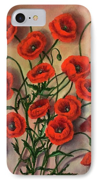 Flander's Poppies IPhone Case