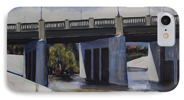 Fletcher Street Bridge IPhone Case
