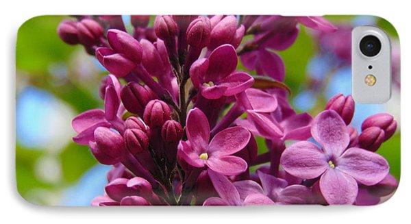 Fleur De Lilac IPhone Case