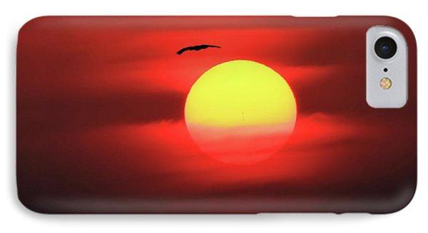 Flight To The Sun IPhone Case