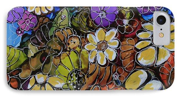 Floral Boquet IPhone Case
