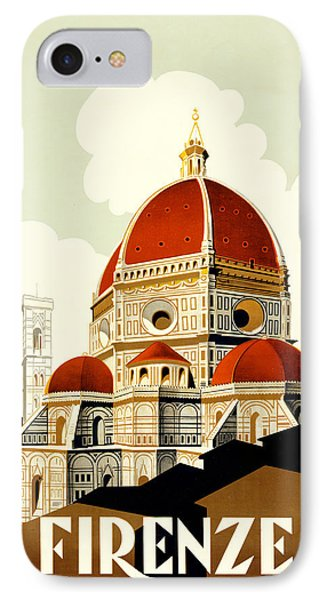 Florence Travel Poster IPhone Case