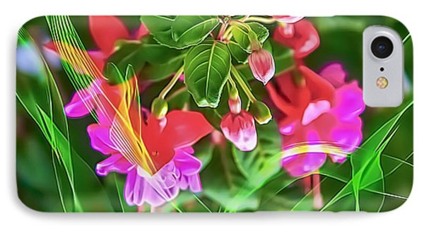 Flower Fantasy IPhone Case