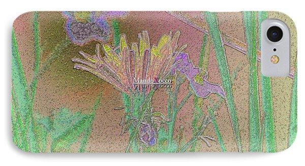 Flower Meadow Line IPhone Case