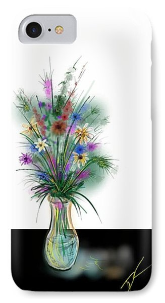 Flower Study One IPhone Case
