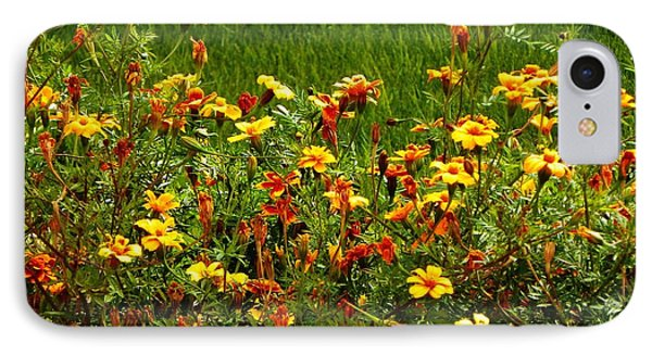 Flowers In The Fields IPhone Case