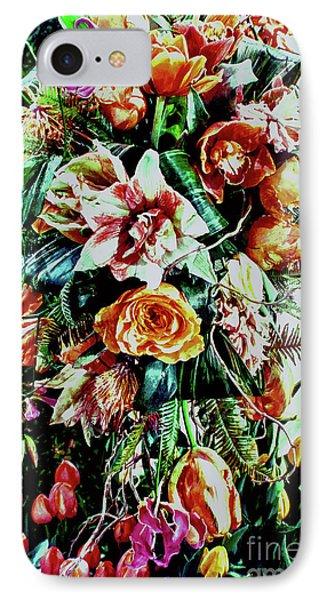 Flowing Bouquet IPhone Case