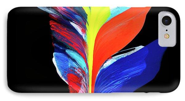 Fluidity Black #5 IPhone Case