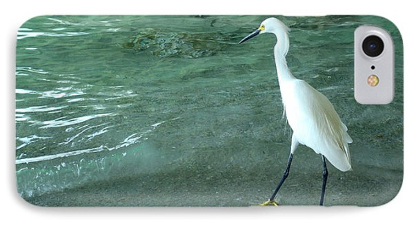 Egret Under Bridge IPhone Case