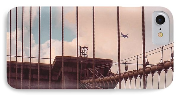 Fly Over Brooklyn  IPhone Case
