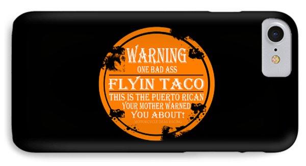 Flyin Taco IPhone Case