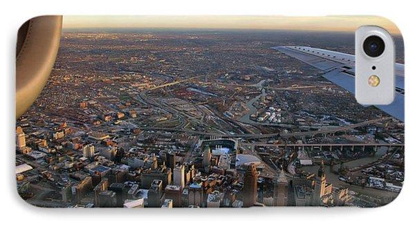Flying Over Cincinnati IPhone Case