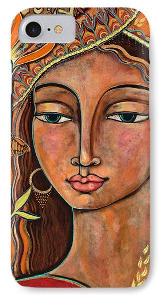 Rose iPhone 8 Case - Focusing On Beauty by Shiloh Sophia McCloud