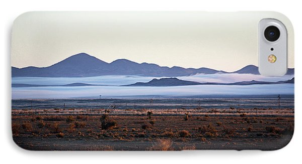 Fog In The Peloncillo Mountains IPhone Case