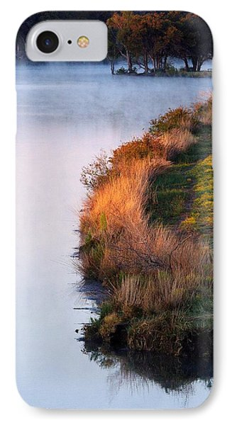 Fog Over The Lake IPhone Case