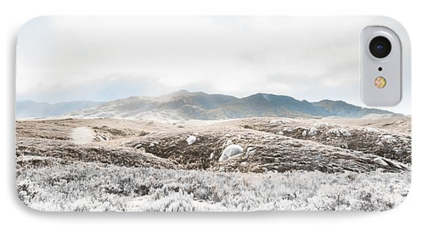 Fog Snow And Ice Landscape IPhone Case