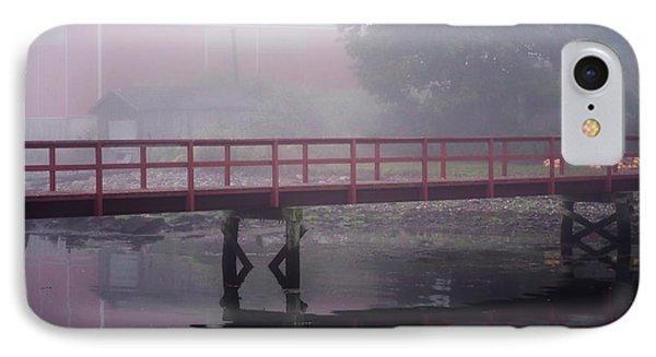 Foggy Morning At The Bridge IPhone Case