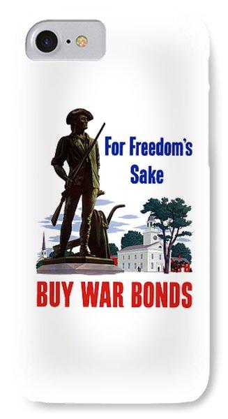 For Freedom's Sake Buy War Bonds IPhone Case