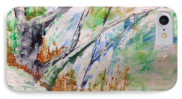Forest Abstract - Hillside No.1 IPhone Case