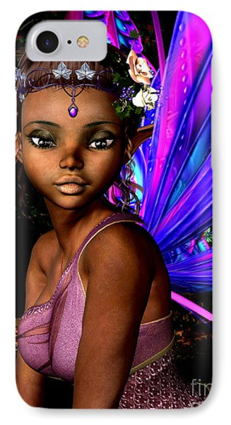 Elf iPhone 8 Case - Forest Fairy by Alexander Butler